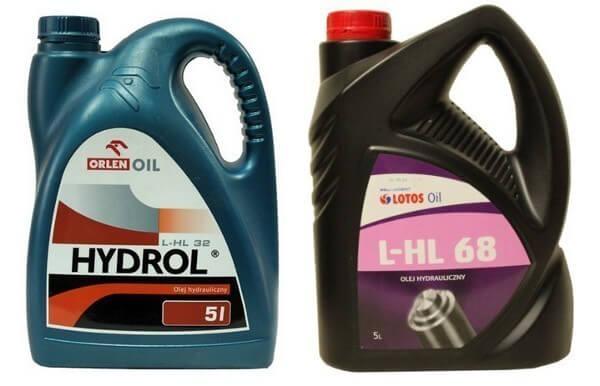 oleje hydrauliczne